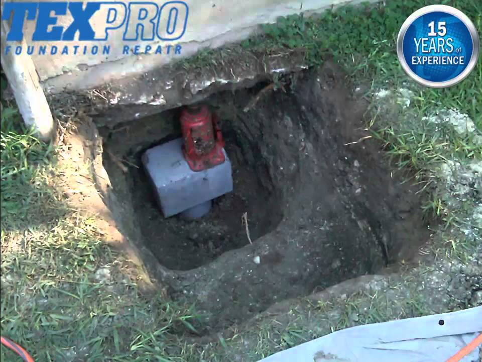 Slab Foundation Repair and Concrete Perimeter Beams - YouTube