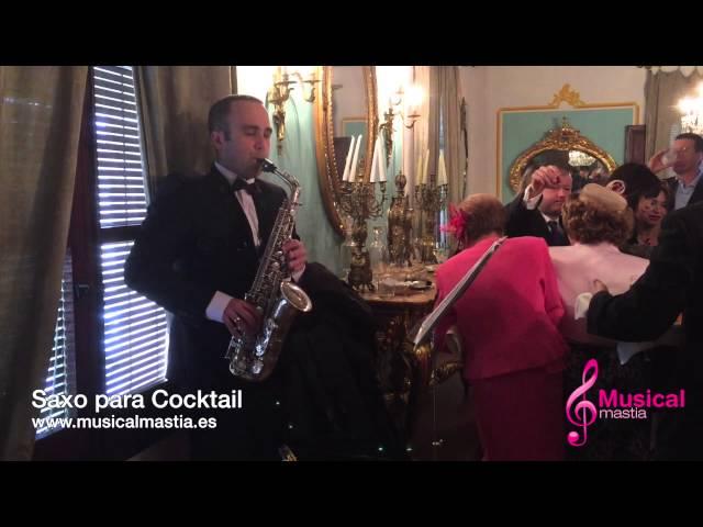 Saxo para Cocktail PALACETE DE LA SEDA MURCIA SANTA CRUZ BODAS Musical Mastia Wedding