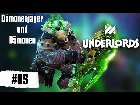 Dämonenjäger und Dämonen - Dota Underlords [Deutsch Gameplay German] #05