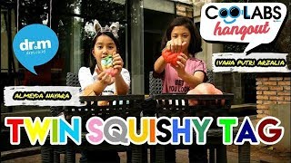 Twin Squishy Tag Ft. Ivana Putri Arzalia | #drmcoolabshangout