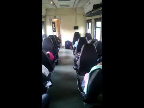 Сидячие места. Поезд Ижевск-Екатеринбург.