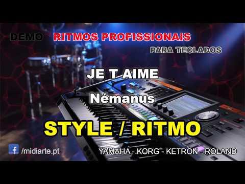 ♫ Ritmo  Style  - JE T AIME  - Némanus