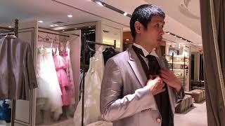 結婚式のタキシードを選びに銀座へ#17A33