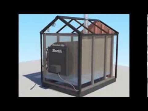 outdoor wood furnace installation and operation youtube