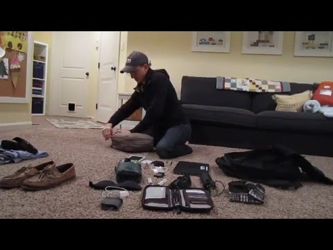 Never Check a Bag Again - Packing Tips for 11 Days of International Travel - GORUCK GR1