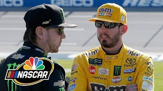 Kyle Busch explains why he left Kentucky without Kurt Busch | Motorsports on NBC