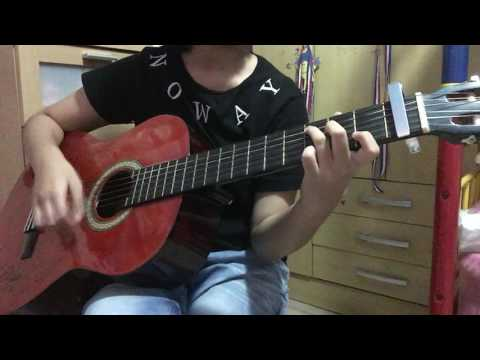 Save Me - BTS guitar cover (with chords)
