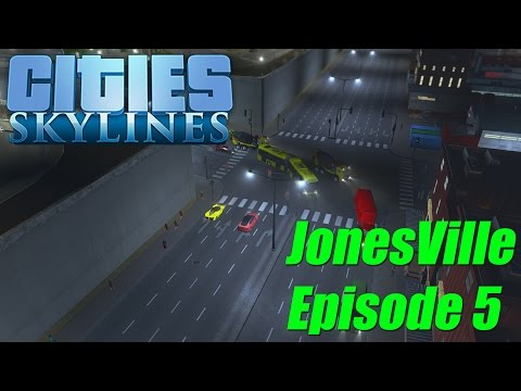 Cities Skylines - JonesVille Episode 5: New Roads & Public Transport