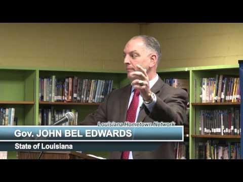 Gov. John Bel Edwards Addresses Educators