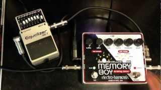 Deluxe Memory Boy Effects Loop Boss GE-7
