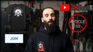 YouTube Update | Membership | Merchandise | #SaveYourInternet
