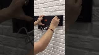 Крепление телевизора на стену . Как повесить телевизор на стену . # Монтаж телевизора на стену.