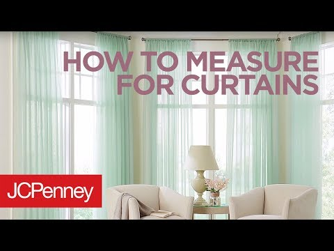 How to Measure For Curtains and Drapes: Custom Window Treatments | JCPenney