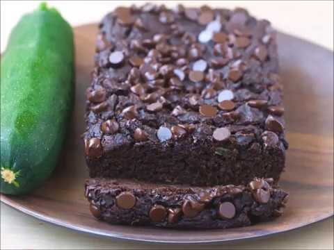 Chocolate Zucchini Bread - Vegan, Healthy, Low Oil