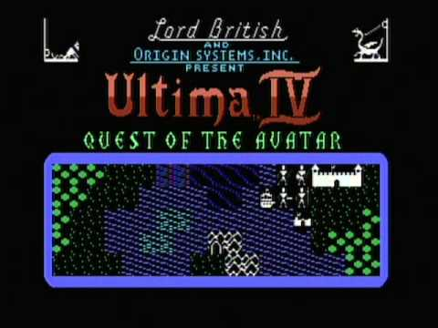 Commodore 64 Music - Ultima IV Quest of the Avatar