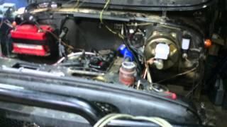 Установка двигателя TD27. На Уаз.первый запуск(, 2014-03-11T01:23:29.000Z)