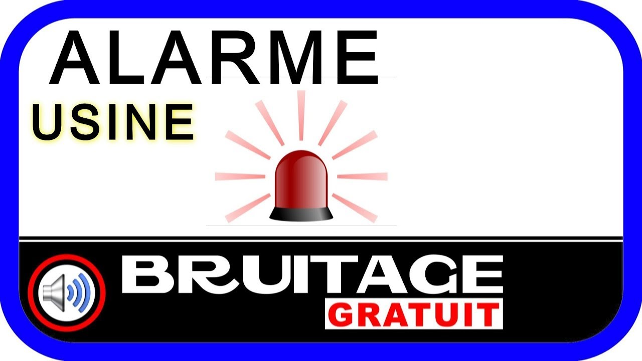 bruitage alarme