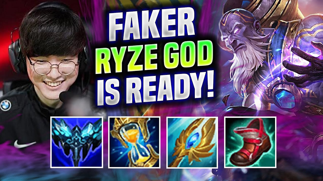 FAKER THE RYZE GOD IS READY FOR WORLDS! - T1 Faker Plays Ryze Mid vs Qiyana! | Be Challenger
