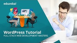 WordPress Tutorial for Beginners | Website and Theme Development with WordPress | Edureka