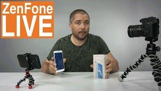 Asus ZenFone Live - první telefon s Beauty Live módem - [recenze]