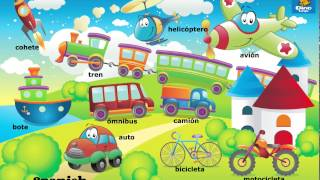 Online Spanish games - Click and tell online game - Spanish language learning games for kids