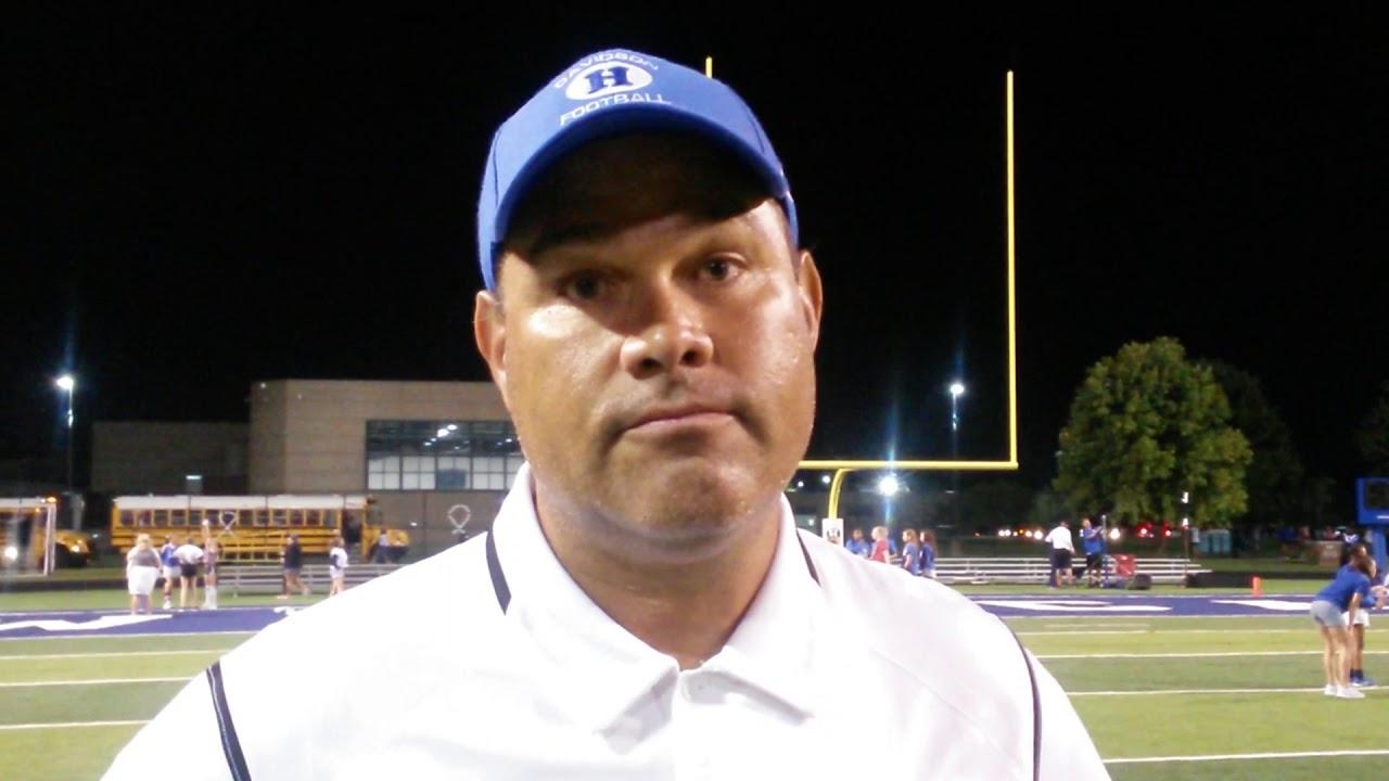 Hilliard Davidson High School Football Coach Brian White Youtube
