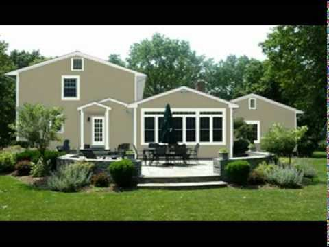 Hardi Plank Siding >> James Hardie Siding in Monterey Taupe - YouTube