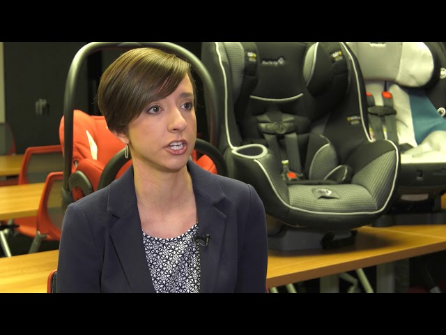 Study Explores Safety Of Rear Facing Car Seats In Impact Crashes