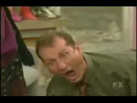 Donna Pieroni Sandy taking abuse from Al Bundy and giving some back.