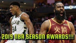 Gambar cover End of the 2018-19 NBA Season Awards!!!