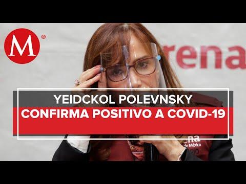 Yeidckol Polevnsky da positivo a prueba de coronavirus