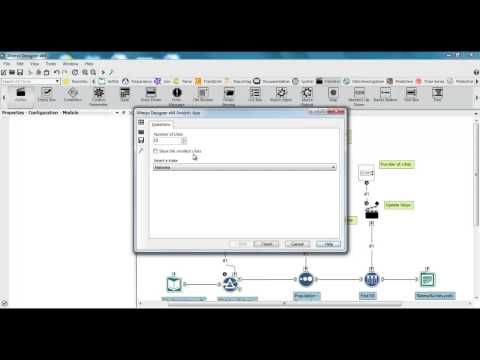 Creating Analytic Apps with Alteryx Analytics