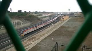Madaraka Express leaving Mombasa Terminus