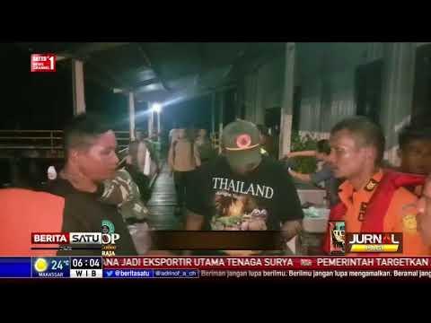 Korban Hilang Kebakaran Teluk Seribu Balikpapan Jadi 3 Orang