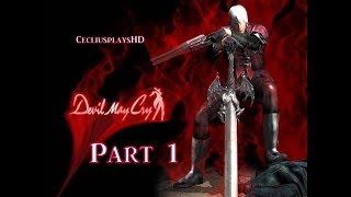 Devil May Cry HD -  Playthrough Part 1 - Prologue