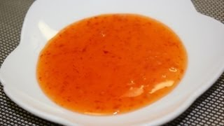 Easy Homemade Sweet Chili Sauce 簡単スイートチリソース
