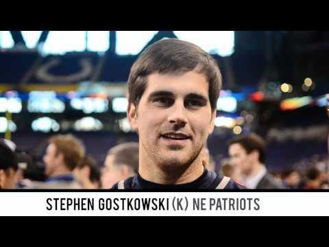 Patriots Kicker Stephen Gostkowski Talks About Watching Cundiff Miss