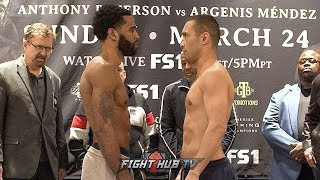 LAMONT PETERSON VS SERGEY LIPINETS - FULL WEIGH IN & FACE OFF VIDEO