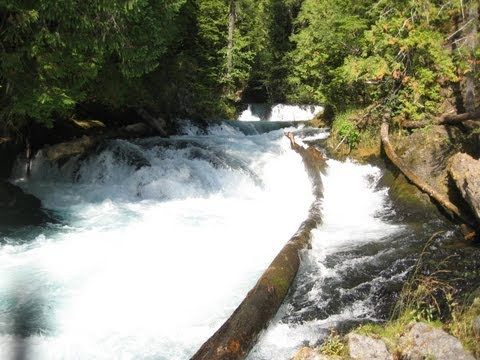 ♥♥ Relaxing 3-Hour Video of a Mountain River