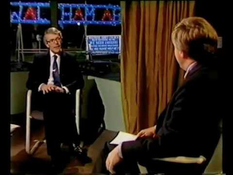 John Major talks about Edwina Currie,December 1988