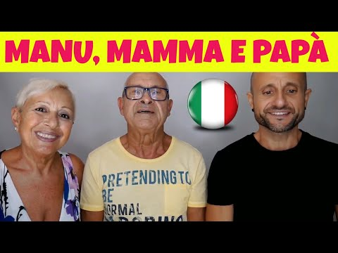 Learn Italian - Live Marathon: Part 3: Chat with Manu's Parents (video in italian)