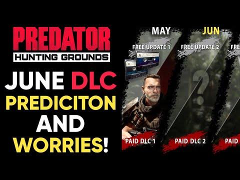Predator Hunting Grounds JUNE DLC PREDICTIONS + WORRIES