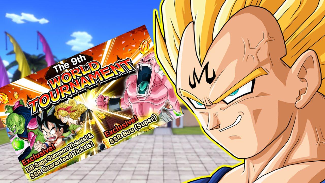 Dbz Dokkan Battle 9th World Tournament With Majin Vegeta Youtube