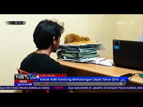 Kakak Adik Kandung Berhubungan Sejak Tahun 2016 - NET 24