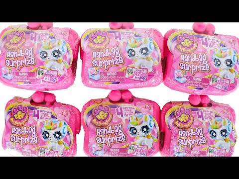 BFF Handbag Surprise Blind Box Best Furry Friends Unboxing Toy Review