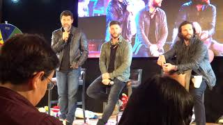 JIB10 - Jensen and Jared and Misha panel + closing ceremony - part3