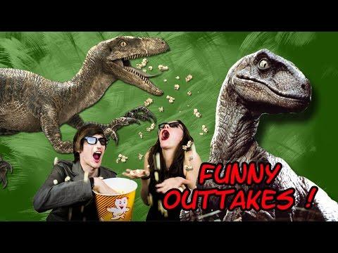 OUTTAKES unserer Jurassic World (Jurassic Park 4) Review/Kritik