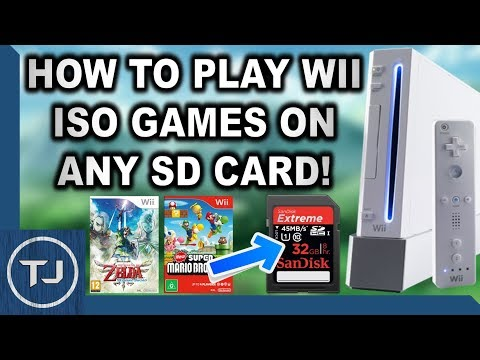 Loading Wii ISO Games Off SD Card! (USBLoader & WiiFlow)