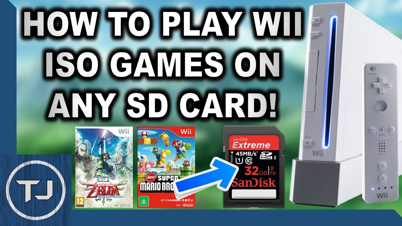 Loading Wii Iso Games Off Sd Card Usbloader Wiiflow Youtube