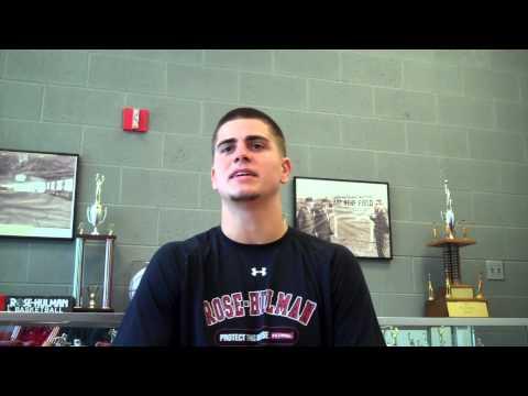 Ryan Landwehr, Rose-Hulman Senior Quarterback